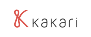 「&」と「K」を組み合わせた「kakari」のロゴ